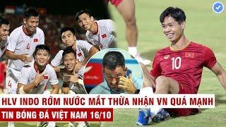 VN Sports 16/10 | Thắng Indo VN phá kỷ lục 20 năm, HLV Park tiết lộ lý do loại Công Phượng