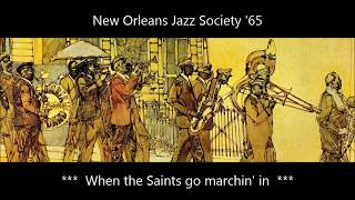 When the Saints go marchin' in - NOJS '65