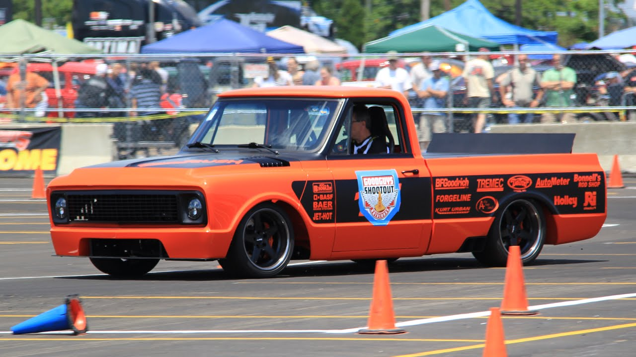1969 Chevrolet C-10 Pickup – Orange Rush   CarBuff Network