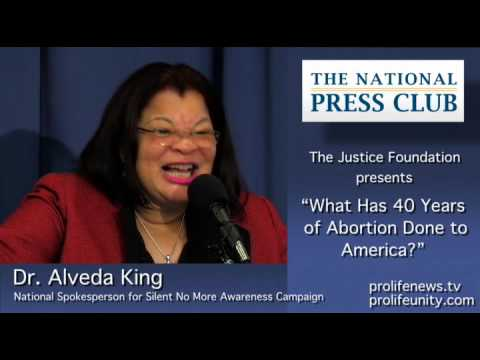 Dr. Alveda King shares that her uncle, Dr. Martin Luther King Jr.,