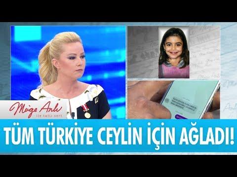 Tüm Türkiye Ceylin Için Ağladı! - Müge Anlı Ile Tatlı Sert 13 Haziran 2017 - Atv