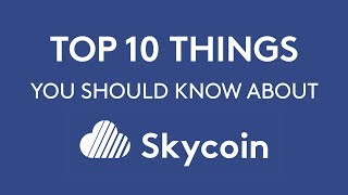 Top 10 Things You Should Know About SKYCOIN