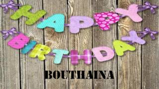 Bouthaina   Wishes & Mensajes