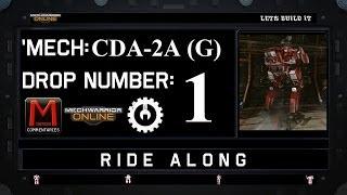 MWO Ride Along: CDA-2A (G) Drop 1
