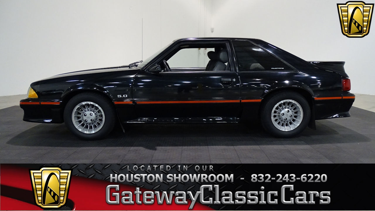 2017 Ford Mustang Gt Premium >> 1987 Ford Mustang GT Gateway Classic Cars #647 Houston Showroom - YouTube