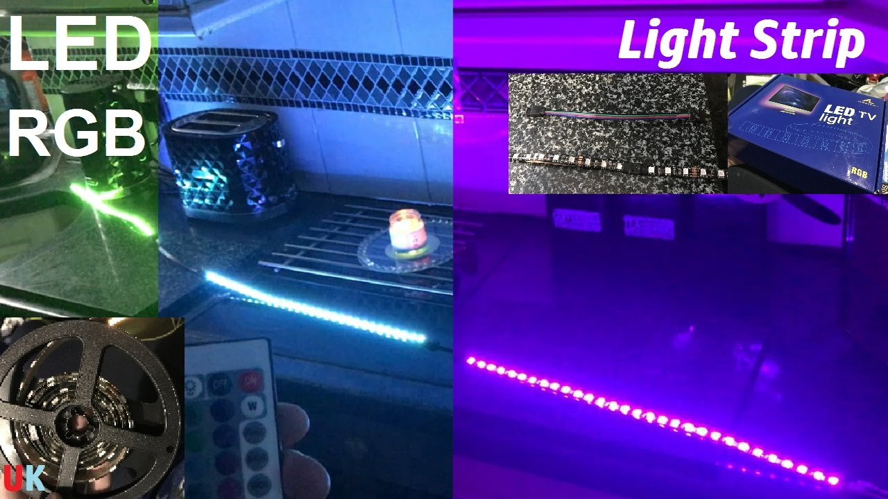 Tv backlight led rgb light strip 24 key remote aled light bias tv backlight led rgb light strip 24 key remote aled light bias lighting uk power adaptor aloadofball Choice Image