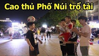 Thử Thách Bóng Đá với vua bóng đá đường phố HAGL Việt Nam đỉnh như Sean Garnier
