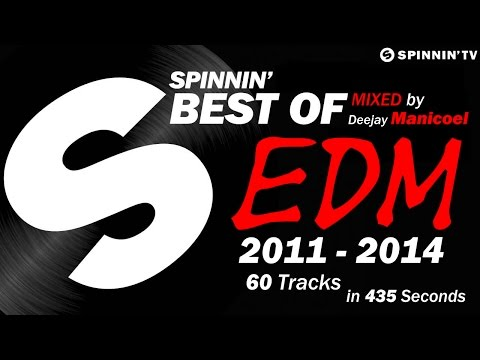 Best of EDM (2011-2014) - 60 Tracks in 435...