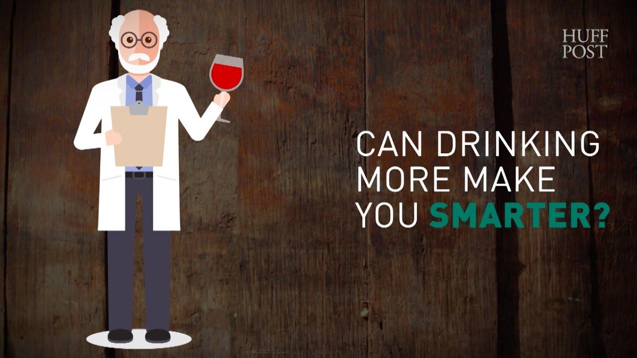 Alcohol makes you smarter
