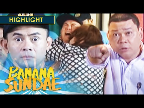 Banana Sundae: President Dudirty gets mad