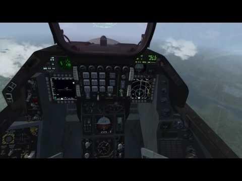 Falcon BMS 4.33.1 : KTO Tiger DEAD against SA-10 Yalu River
