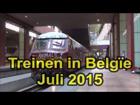 Treinen in België - Juli 2015