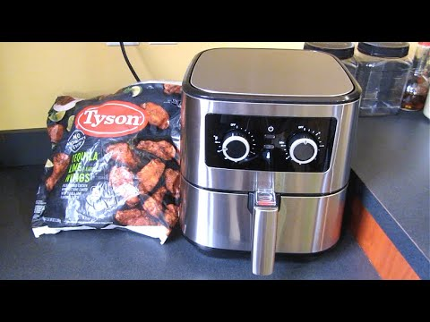 insignia-manual-5-quart-air-fryer-|-the-good,-the-bad-|-review-and-demo