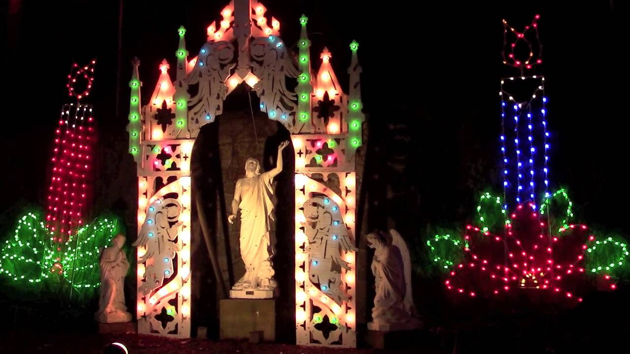 Christmas Festival Of Lights - La Salette Shrine |2015| (Attleboro ...