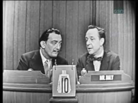 Salvador Dali on What's My Line funny