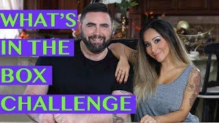 What's in the Box Challenge with Snooki and Joey