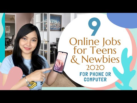 9 Ways to Earn Online as a Teenager or Newbie with No Experience |  English Subtitles