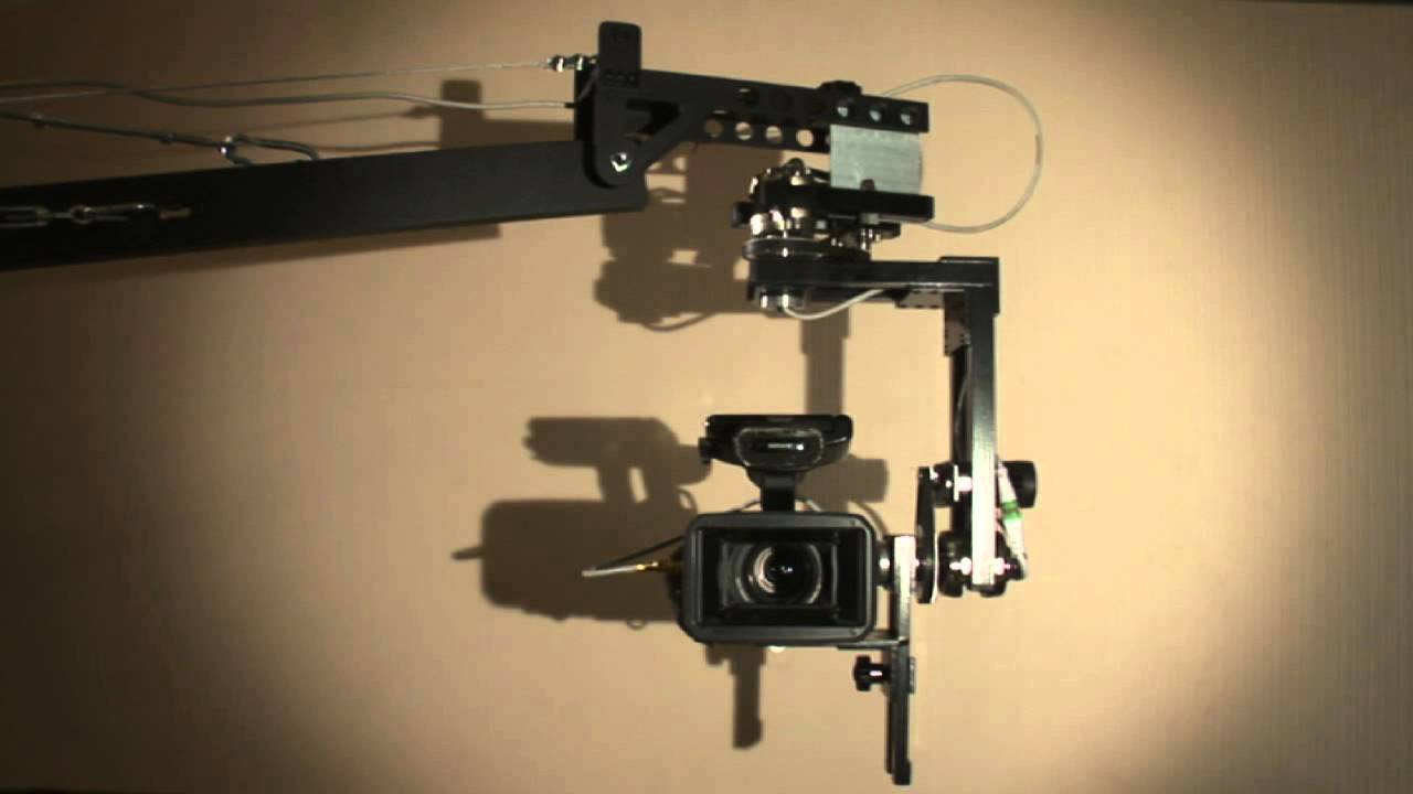 My home made 2 axis 360 degree pan tilt head youtube for Pan and tilt head motorized