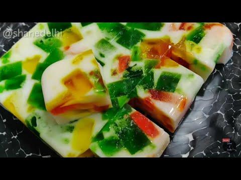 Custard China Grass Pudding Recipe How To Make Custa