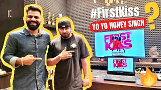First Kiss Unboxing with Yo Yo Honey Singh🔥🔥🔥