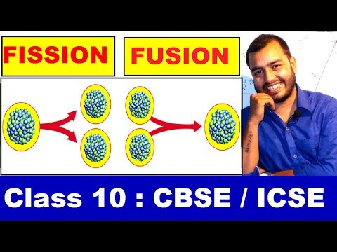 NucleaR FissioN and FusioN : Class 10 PHYSICS CBSE / ICSE