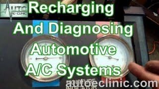 How To Recharge and Diagnose Automobile Air Conditioning