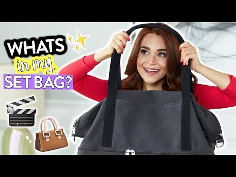 WHATS IN MY BAG? (My Set Bag) | Rosanna Pansino