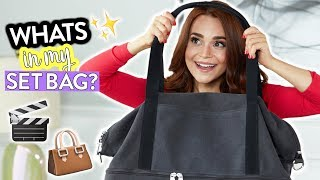 WHATS IN MY BAG?! (My Set Bag) | Rosanna Pansino