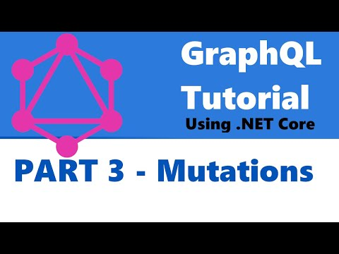 GraphQL Tutorial Part 3 - Mutations thumbnail