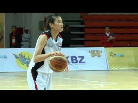 บาสหญิงทีมชาติไทยVS อินโดนีเซีย161256