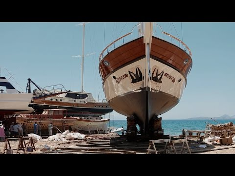 Boat builders of Bodrum, Turkey