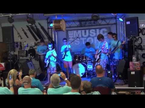 Rip Tides - Surf Rock Band - Zomac School of Music - Jeff Jones