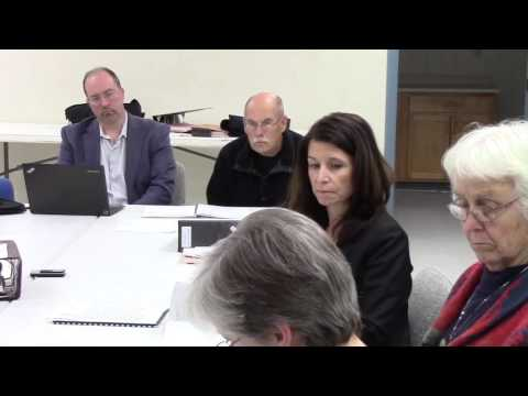 Board of Finance Meeting March 14, 2016