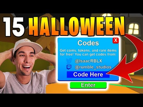 15 HALLOWEEN UPDATE CODES IN ROBLOX MINING SIMULATOR