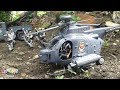 Military helicopter Military truck Toys soldiers Army men Toy Channel