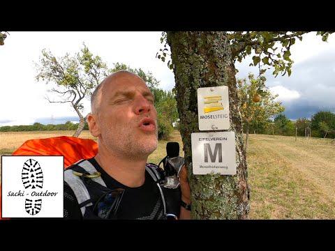 365 km auf dem Moselsteig (Tag 2)
