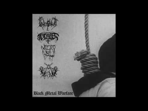 Intempestus/Antares/Necrohell/Vent - Black Metal Warfare EP