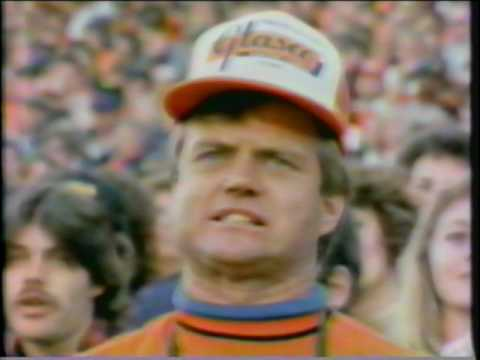Uncle Gary in 1987 Road to the Superbowl - That