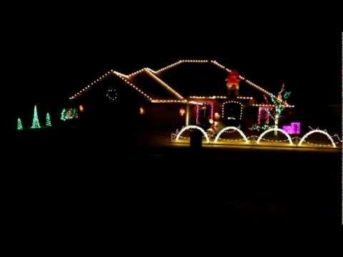 BC Clark Jingle Christmas Light Sequence