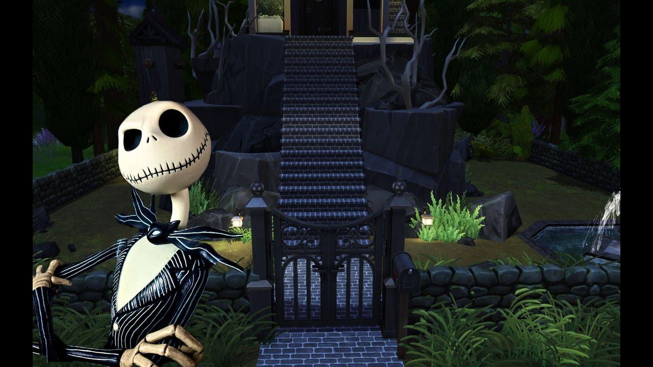 Nightmare Before Christmas: Jack's House! Halloween Speed Build ...