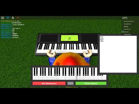 Roblox Happy Birthday On Piano Sheet In Desc Youtube