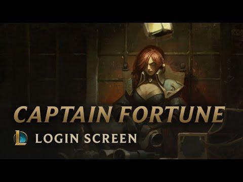 Captain Fortune  Login Screen  League of Legends