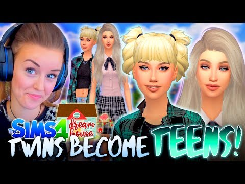 😱DOUBLE TROUBLE... THE TWINS AGE UP!👭(The Sims 4 #37! 🏡)
