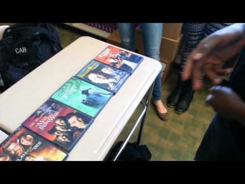 Kid freestyles using Book titles