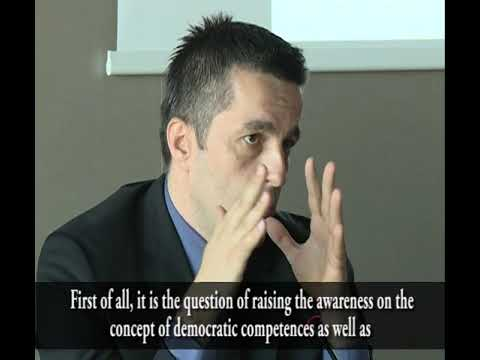 Montenegro: conference on Competences for democratic culture in education (Eng subtitles)