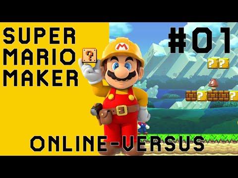 Online Versus: Super Mario Maker [#01] - Ich gegen Level aus aller Welt