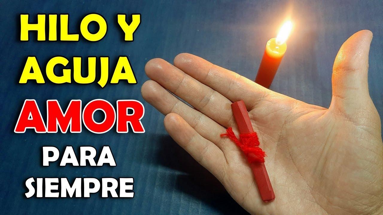 💕 Poderoso Ritual para el Amor con Hilo y Aguja - ATRAE EL AMOR con este Hechizo, Amarre o Amuleto