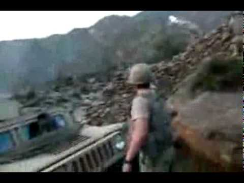 Afghanistan Intense Raw Footage 173rd ABCT Combat