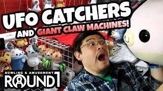 Video Round 1 UFO Catchers Claw Machines! How to win at Round 1 Arcade our way! download MP3, 3GP, MP4, WEBM, AVI, FLV Agustus 2018