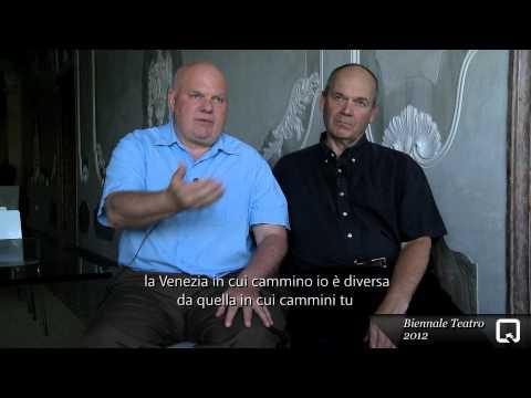 Biennale Teatro 2012 - Declan Donnellan - Nick Ormerod (intervista)